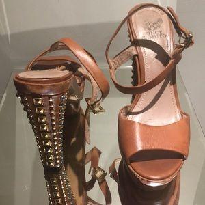 Vince Camuto embellished heels
